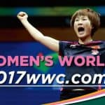 Table Tennis Canada to host the UNCLE POP 2017 Women's World Cup