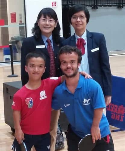 OFFICIALS – Table Tennis Canada present at 7th World Dwarf Games