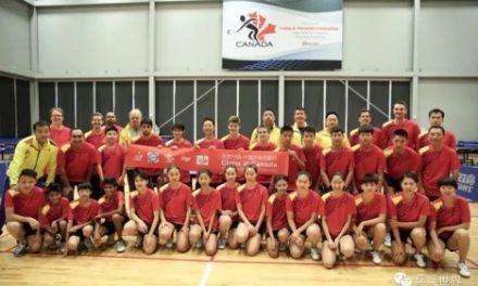 Camp d'entrainement La Chine en Amérique du Nord – un bon début pour le lancement de l'Équipe 2024