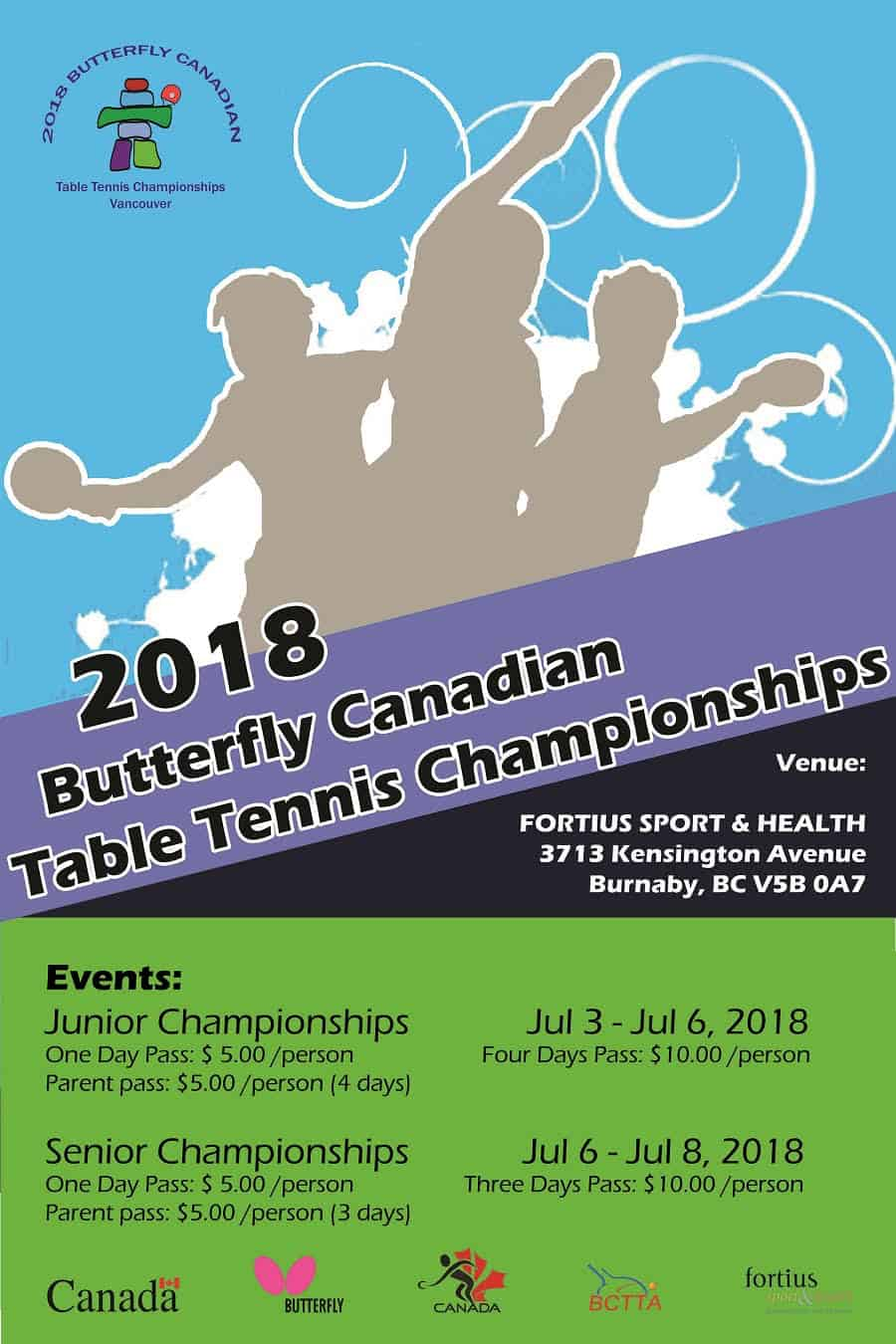2018 Canadian Table Tennis Championships