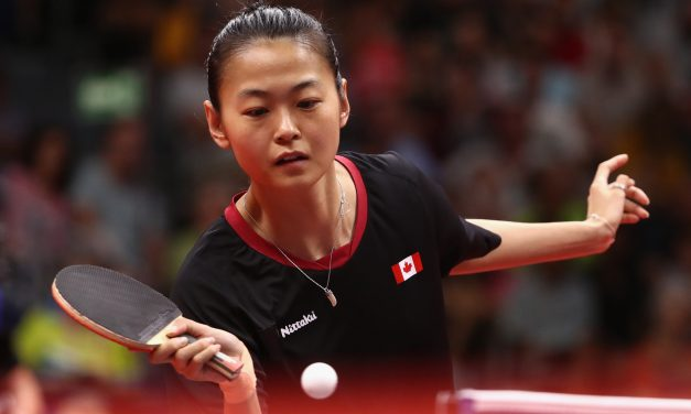 MO ZHANG MOVES INTO THE TOP 20 ON THE ITTF WORLD RANKING