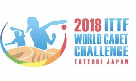 2018 World Cadet Challenge / ITTF Challenge Belgium Open
