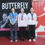 Résultats de la Coupe Canada Butterfly #2 2018