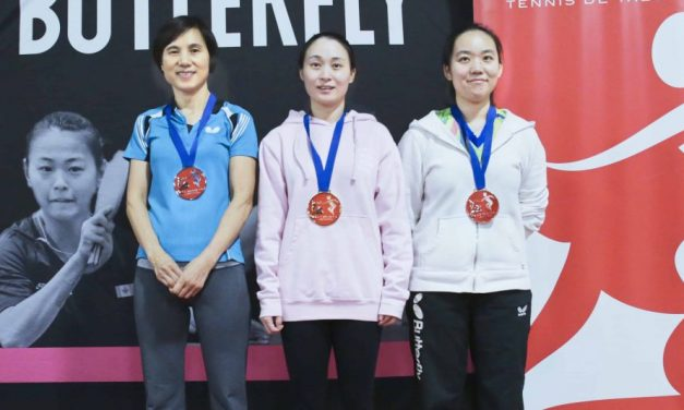 2018 Butterfly Canada Cup #2 Results