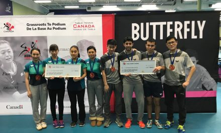 2018-19 Butterfly Canada Cup #3 Results