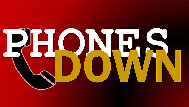 We are sorry, but our phone lines are down