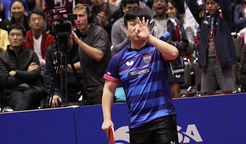 US OPEN: Match of the night, Wang makes it three
