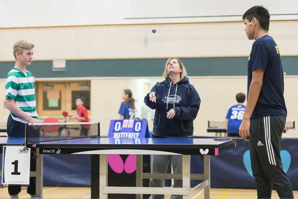 Congratulations to Shari Olsen from Fort Smith in becoming a Territorial Umpire for the Northwest Territories in Table Tennis.