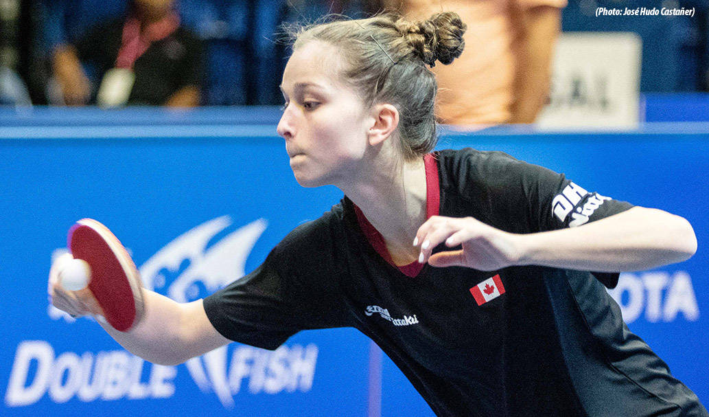 Canadians in form, Jeremy Hazin and Alicia Cote cause early upsets