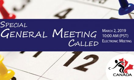 Special General Meeting Called