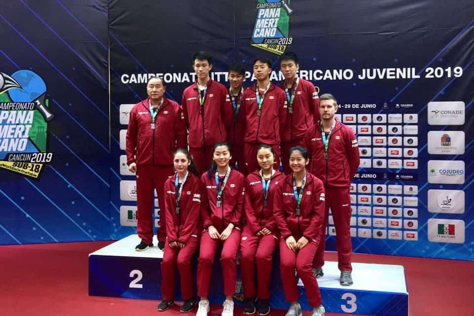 Argent pour les filles, bronze pour les garçons aux Championnats panaméricains juniors