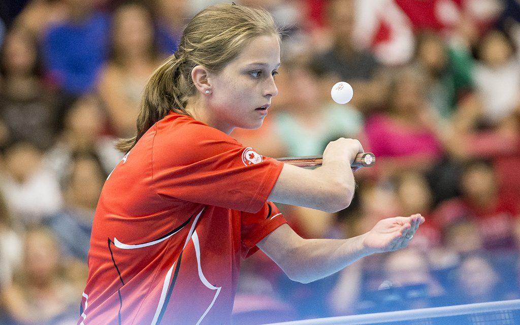 Annonce De L Equipe De Tennis De Table Du Canada Pour Lima 2019