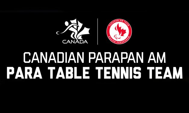 Five Para table tennis players to compete for Canada at Lima 2019