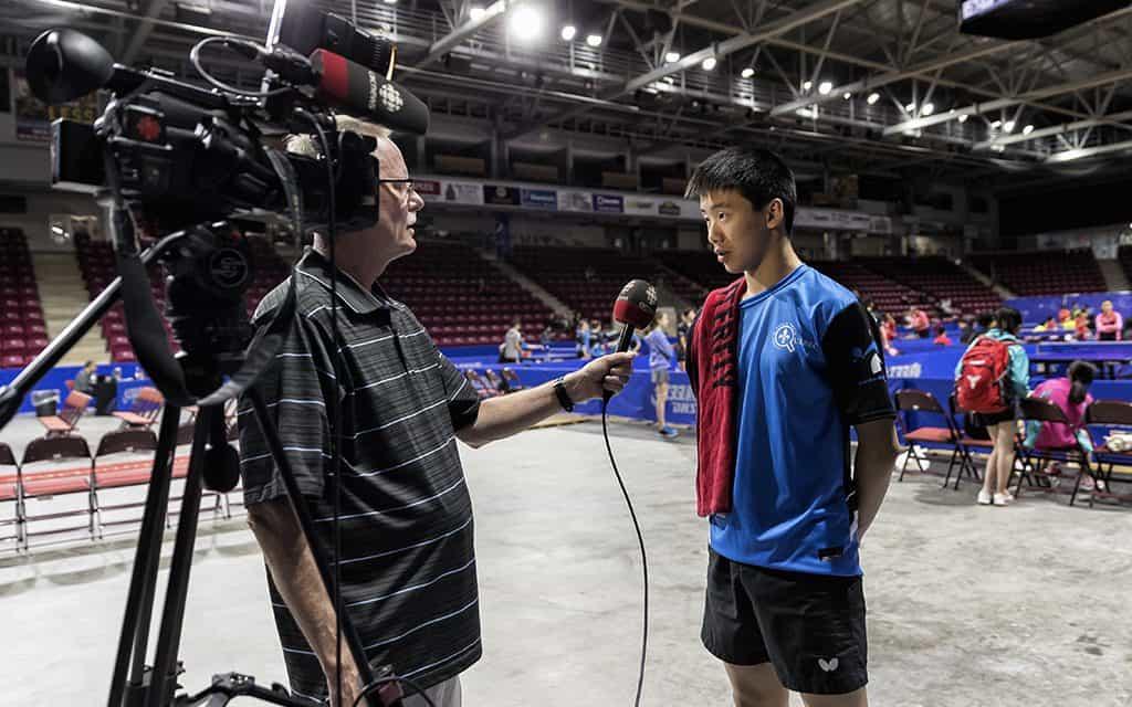 Championnat junior canadien 2019 dans les médias