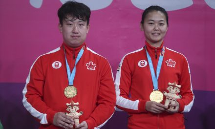 GOLD FOR CANADA – MIXED DOUBLES