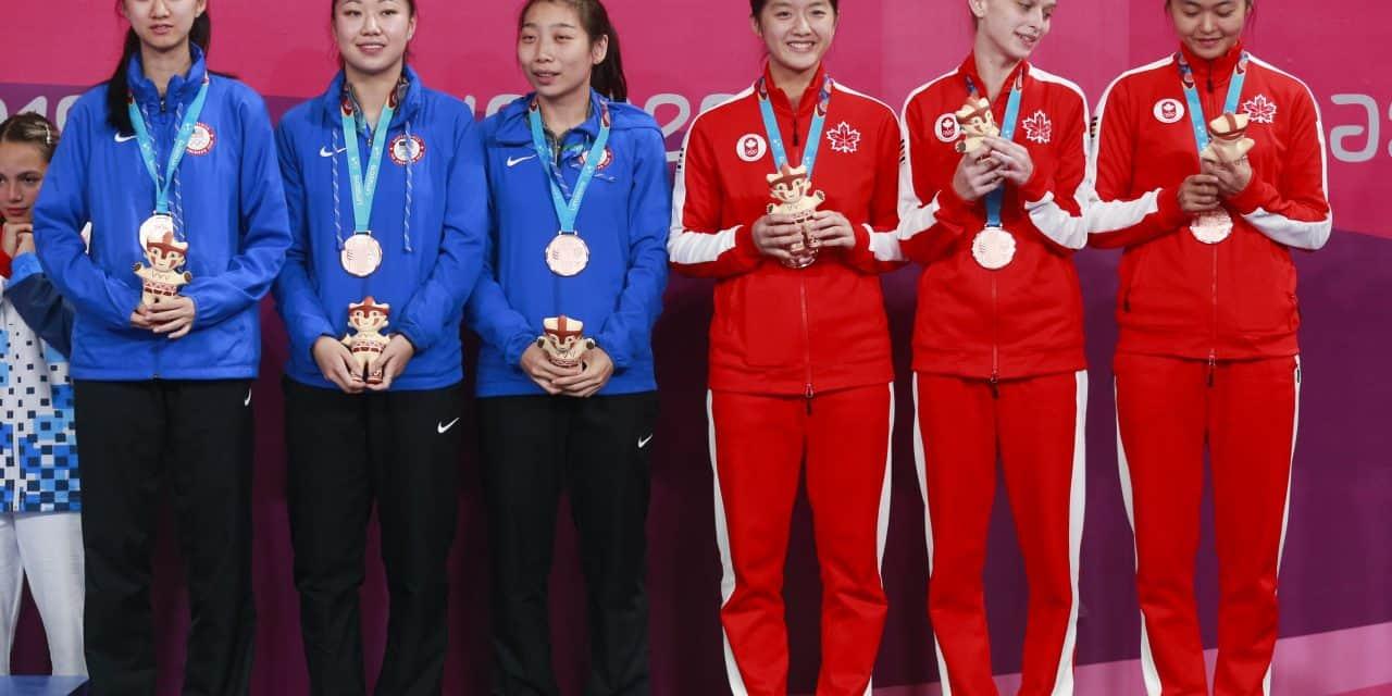 BRONZE for the Women's Team