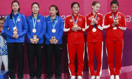 BRONZE for the Women's Team