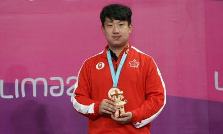 BRONZE for Canada – Eugene Wang