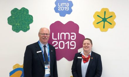 Officiels à Lima 2019
