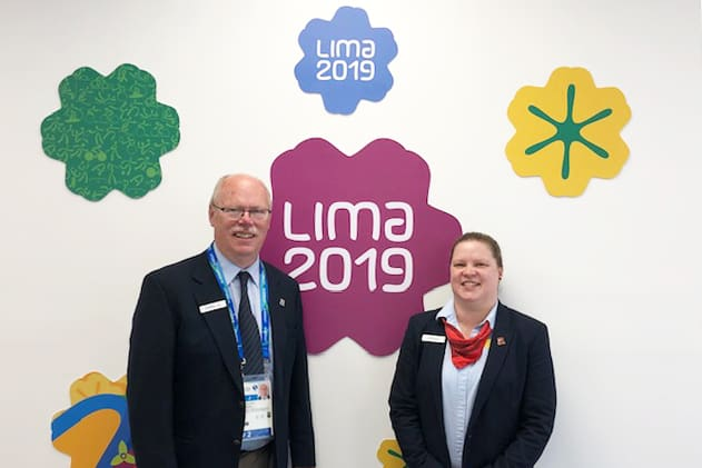 Our officials at the 2019 Pan American Games