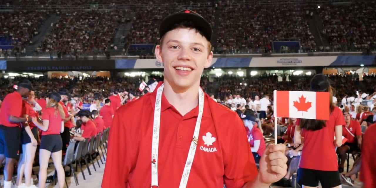 Universiade – Matthew Lehmann