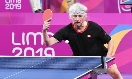 Médaille de bronze pour le Canada – Ian Kent