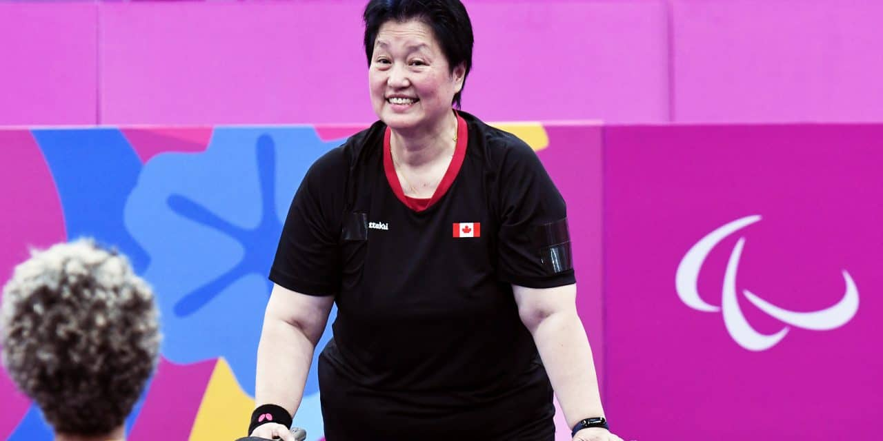 Bronze Medal for Canada – Stephanie Chan