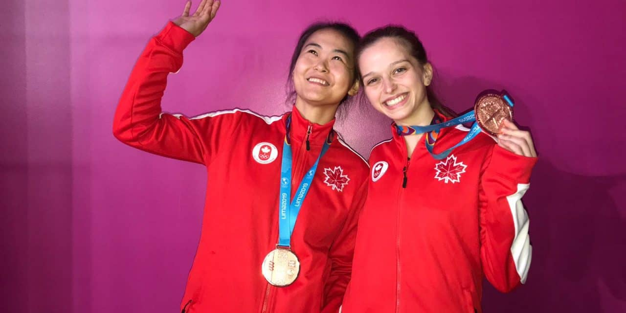BRONZE for Canada – Women's Doubles