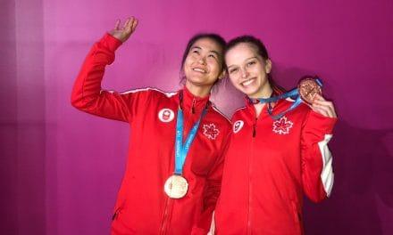 Bronze pour le Canada  – Double féminin