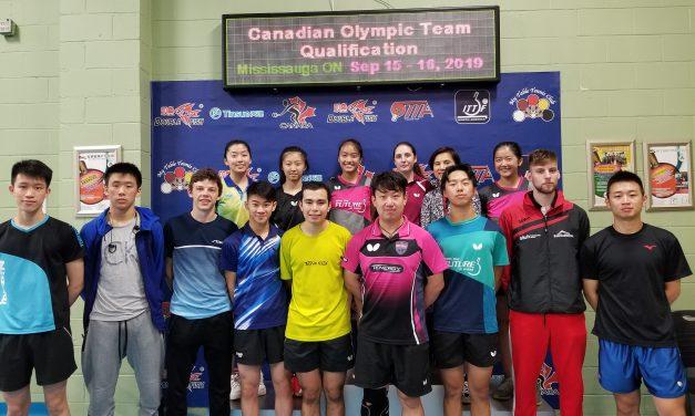 Qualification de l'équipe Olympique Canadienne