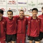 Les hommes obtiennent leur laissez-passer pour les championnats du monde par équipe de tennis de table 2020