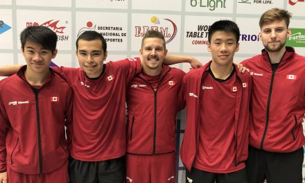 Men's Team secured 2020 World Team Table Tennis Championships ticket