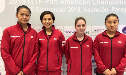 Women's Team secured 2020 World Team Table Tennis Championships ticket