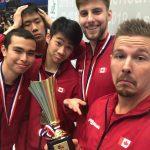 Le Canada qualifié pour les Championnats du monde de tennis de table par équipes 2020 de l'ITTF.
