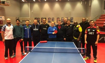 Halmstad High Level Coaching course with BC's Luba Sadovska