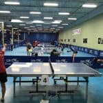 ITTF High Level training camp in Mississauga, Ontario