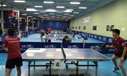 Camp d'entraînement de haut niveau de l'ITTF à Mississauga, Ontario