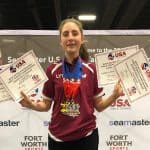 Two times US Open Junior Champion, Québec's Sophie Gauthier