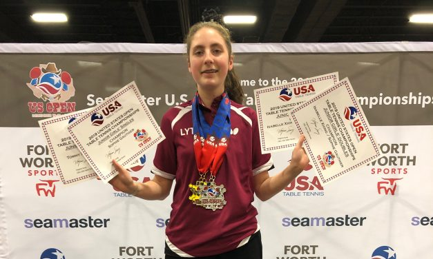 Two times US Open Junior Champion, Québec's Sophie Gauthier