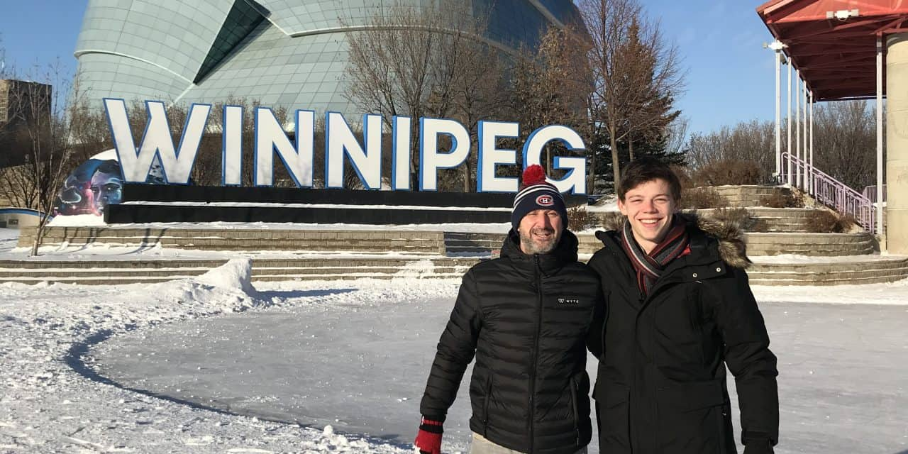 Checking in with Winnipeg's Matthew Lehmann