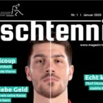 """""""Wintersport Tischtennis"""" an article in German's Table Tennis Magazine """"Tischtennis"""""""
