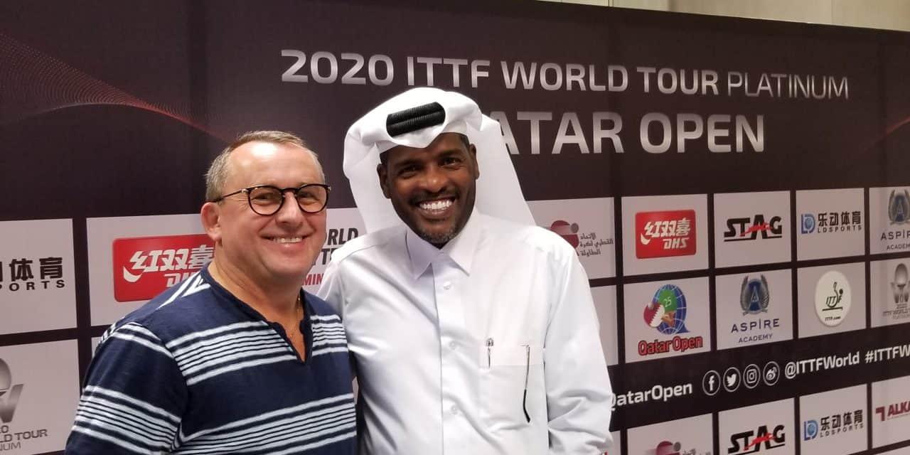 2020 Platinum Tour Qatar Open with Manitoba's Greg Dzioba
