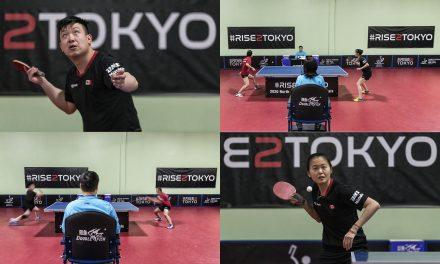 Félicitations à Mo Zhang et Eugene Wang pour leur qualification en simple aux Jeux olympiques de 2020.