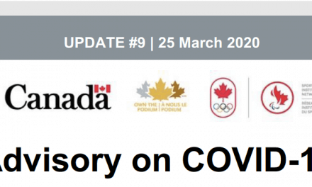 Advisory – COVID-19 Update #9, 25 March 2020