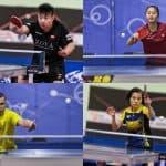 4 athlètes qualifiés pour les qualification olympique nord-américaine de l'ITTF.