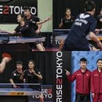 Jeux olympiques 2020 avec Mo Zhang et Eugene Wang.