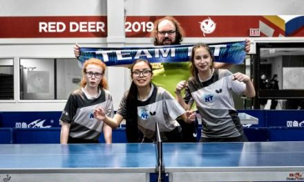 Sport for Life – BRINGING TABLE TENNIS TO THE NORTHWEST TERRITORIES