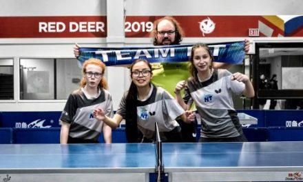 Le sport c'est pour la vie – Introduire le tennis de table dans les Territoires du Nord-Ouest