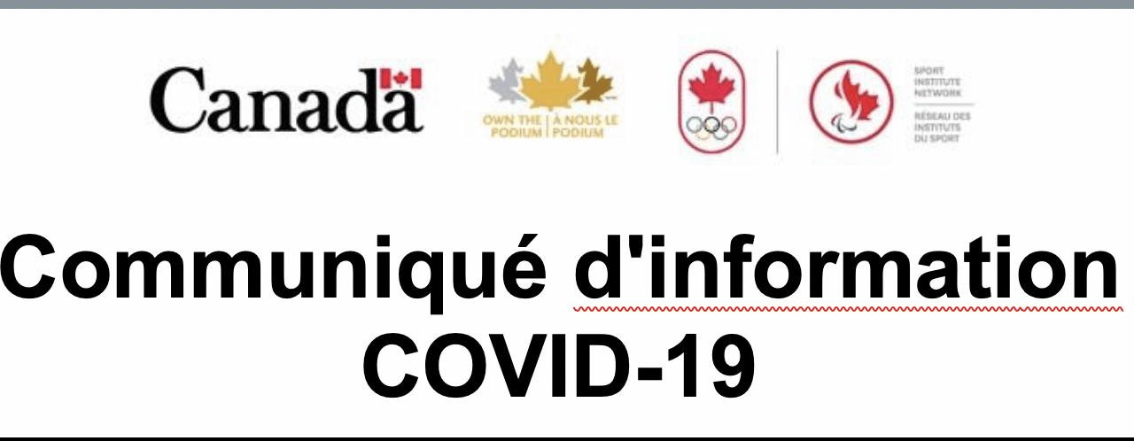 Avis – COVID-19 Mise à jour #20, 30 juin 2020