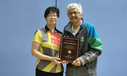 Dr Chandra Madhosingh honoré